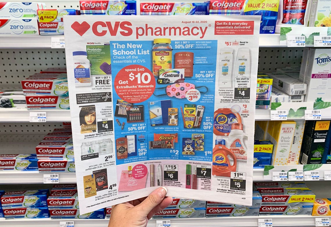 Cvs Weekly Coupon Deals Aug 16 Aug 22 The Krazy Coupon Lady
