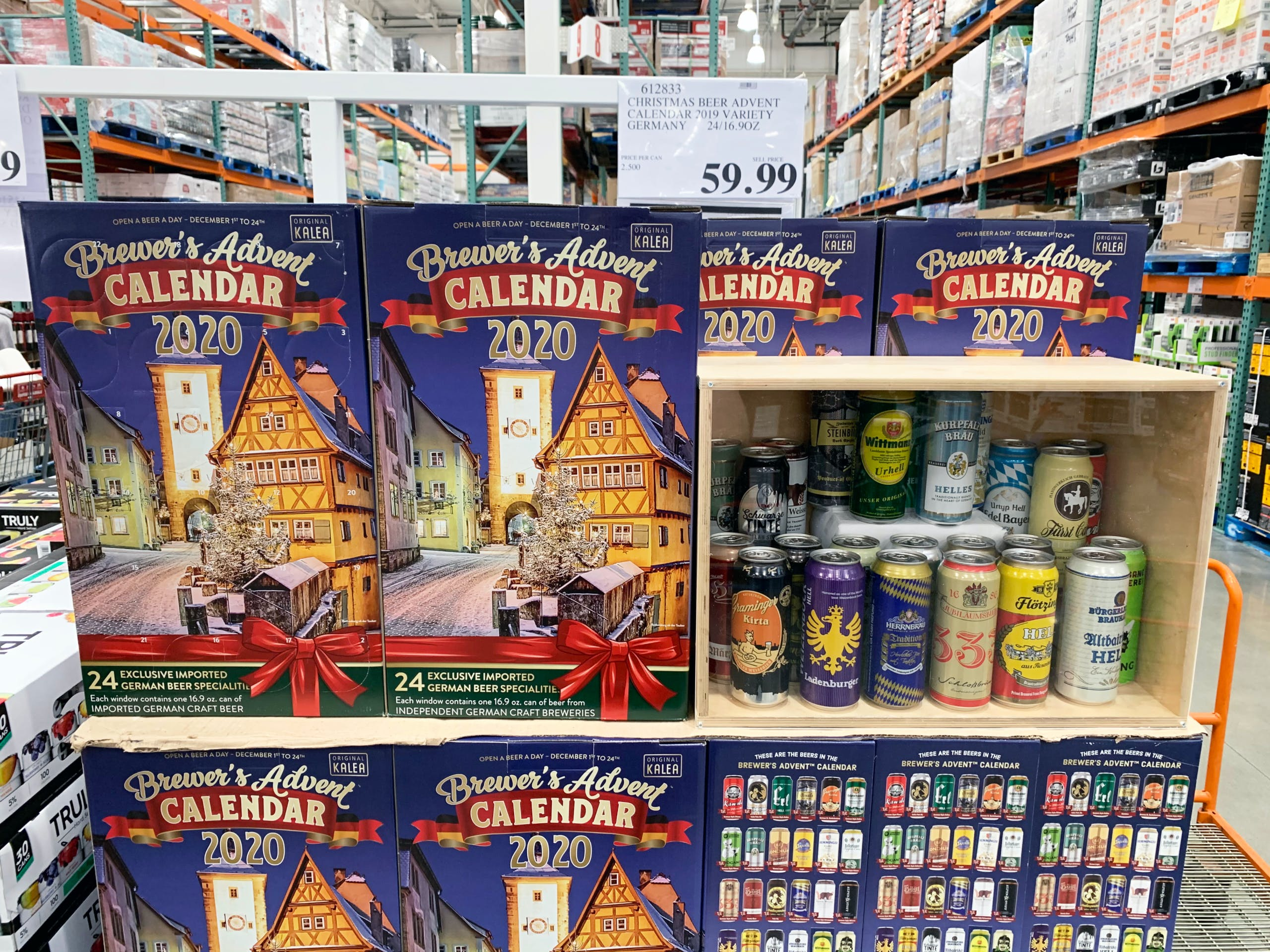 Christmas Beers 2020 Costco Just Released Wine & Beer Advent Calendars   The Krazy
