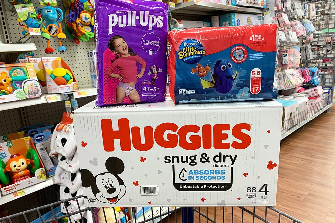 Huggies Diapers Starting At 5 At Walmart The Krazy Coupon Lady