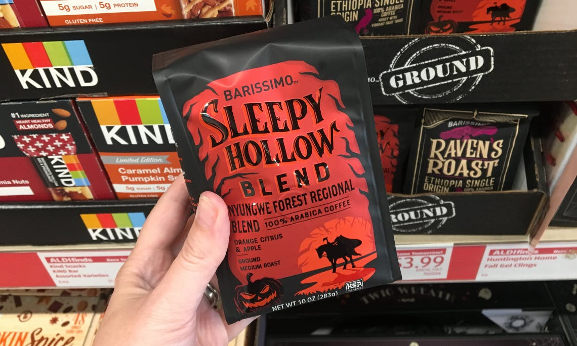 Barissimo Halloween Coffee Only 3 99 At Aldi The Krazy Coupon Lady