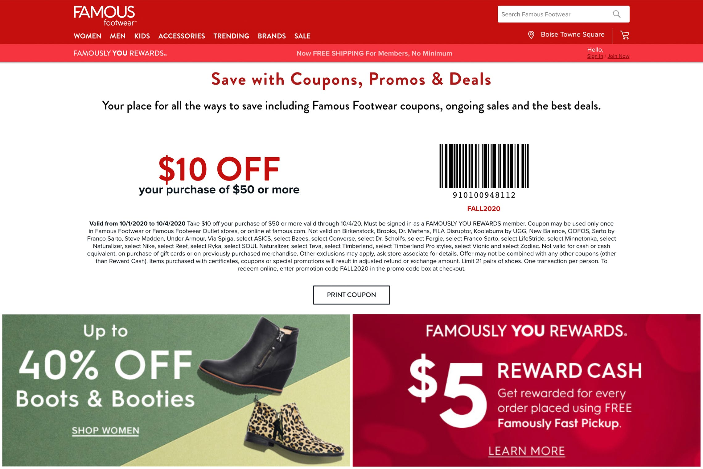 16 Famous Footwear Coupons and Tricks