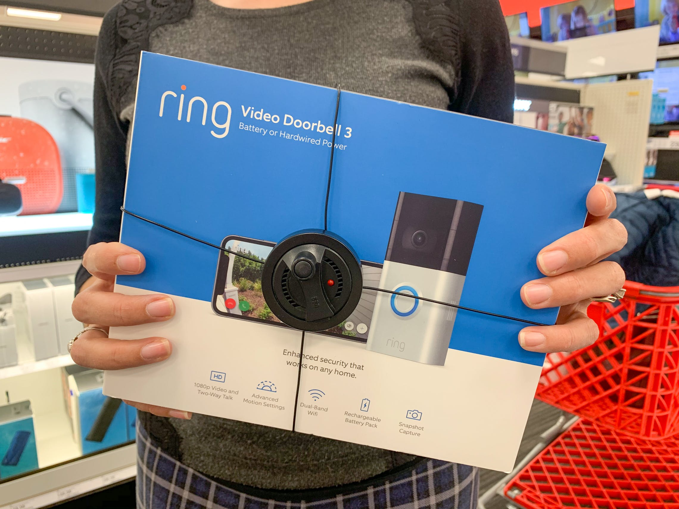 Ring Video Doorbell 3 Echo Show 71 24 Each At Target The Krazy Coupon Lady