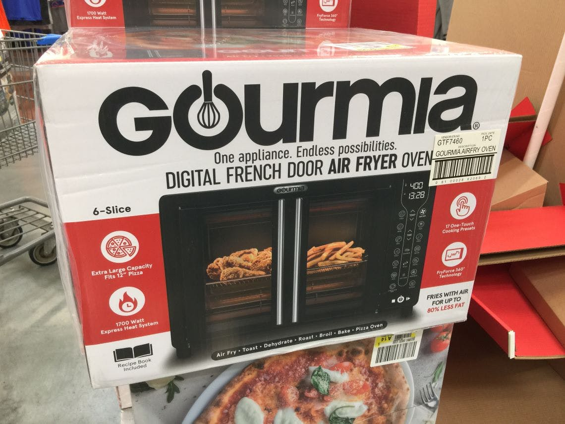 Gourmia Digital Air Fryer Toaster Oven Only 49 At Walmart The Krazy Coupon Lady