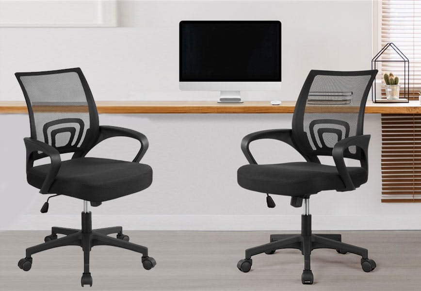 Mesh Office Chairs 49 35 Each At Walmart The Krazy Coupon Lady