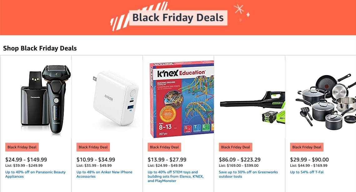 Amazon Reveals Plans For Their 9 Day Black Friday Event The Krazy Coupon Lady