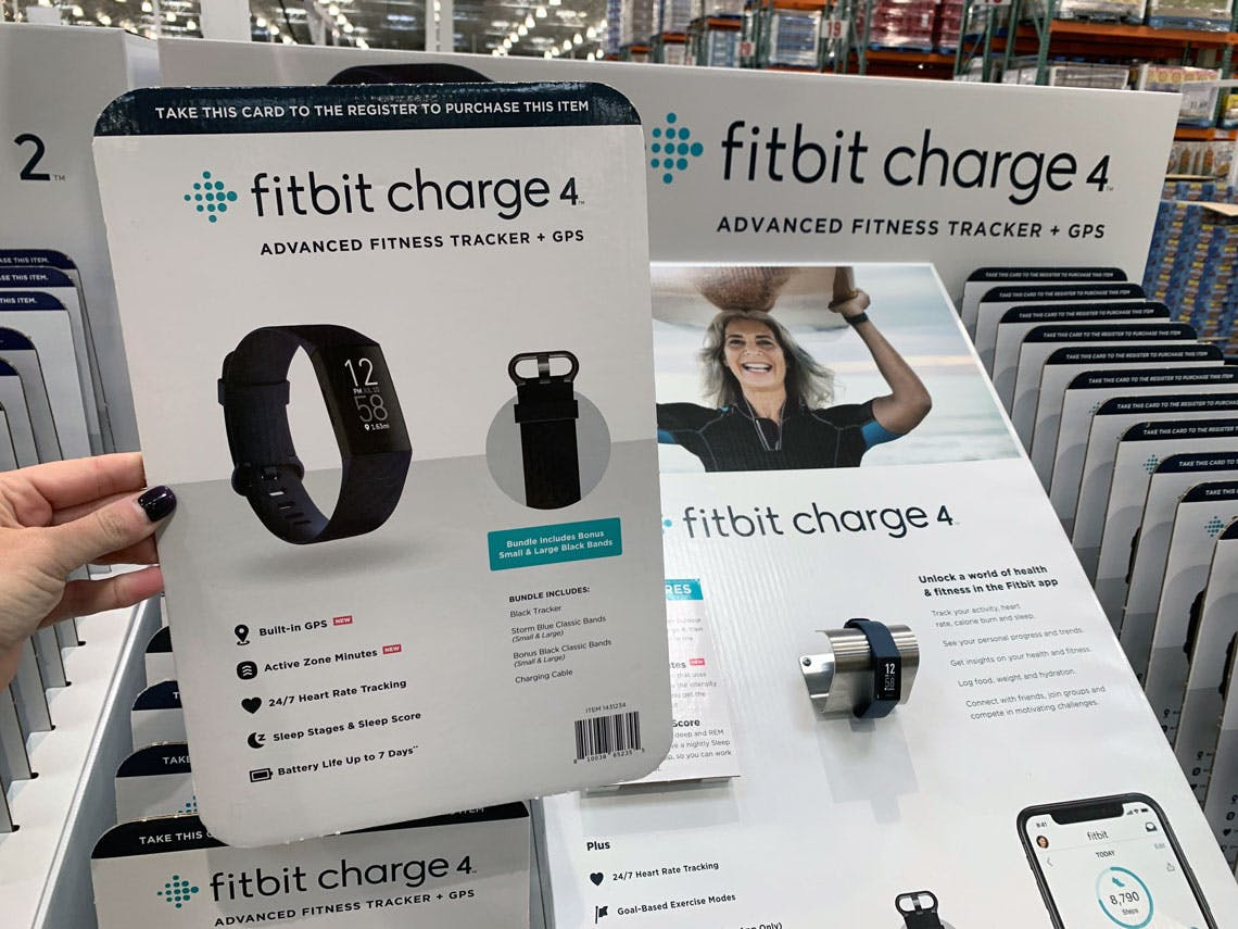 89 99 Fitbit Charge 4 At Costco Early Black Friday Deal The Krazy Coupon Lady