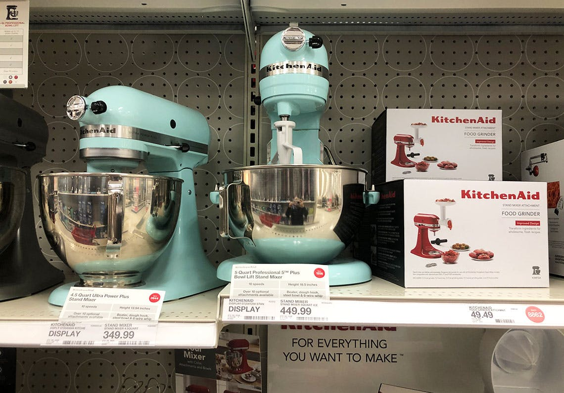 Kitchenaid Professional 5 Quart Stand Mixer Only 189 99 At Target The Krazy Coupon Lady