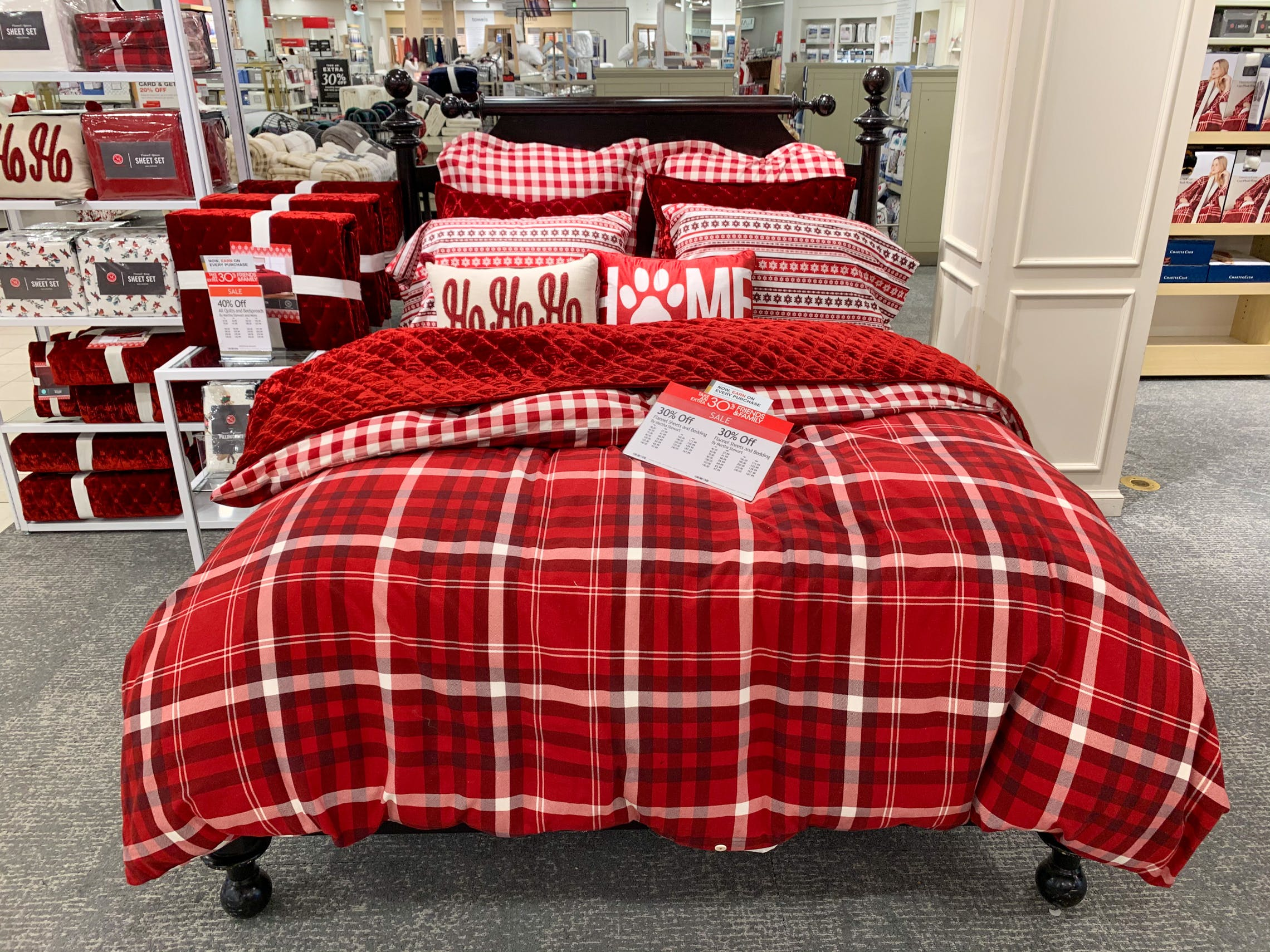 Martha Stewart Flannel Sheet Sets Bedding As Low As 25 At Macy S The Krazy Coupon Lady