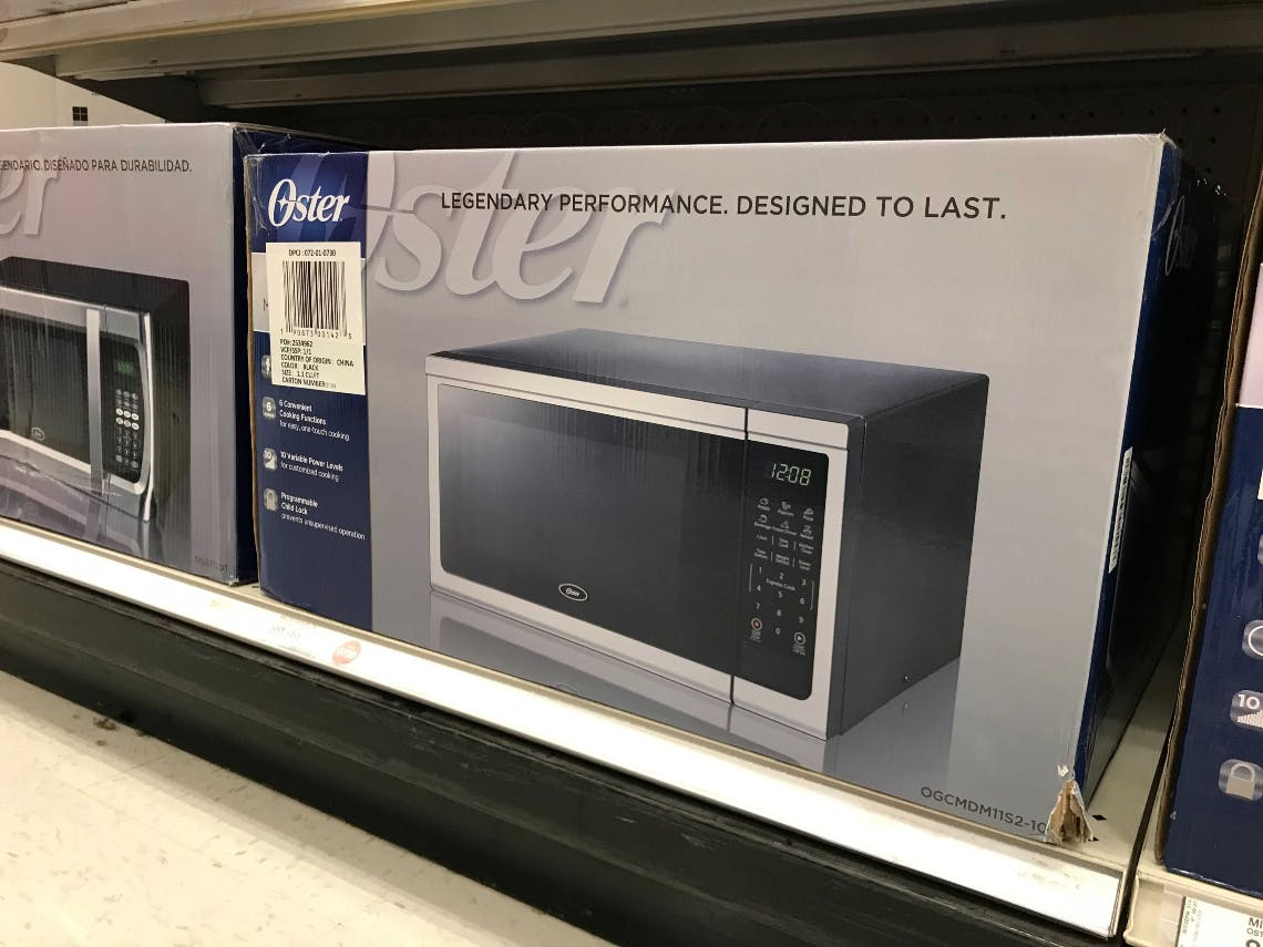 Oster Stainless Steel Microwave Only 47 49 At Target The Krazy Coupon Lady
