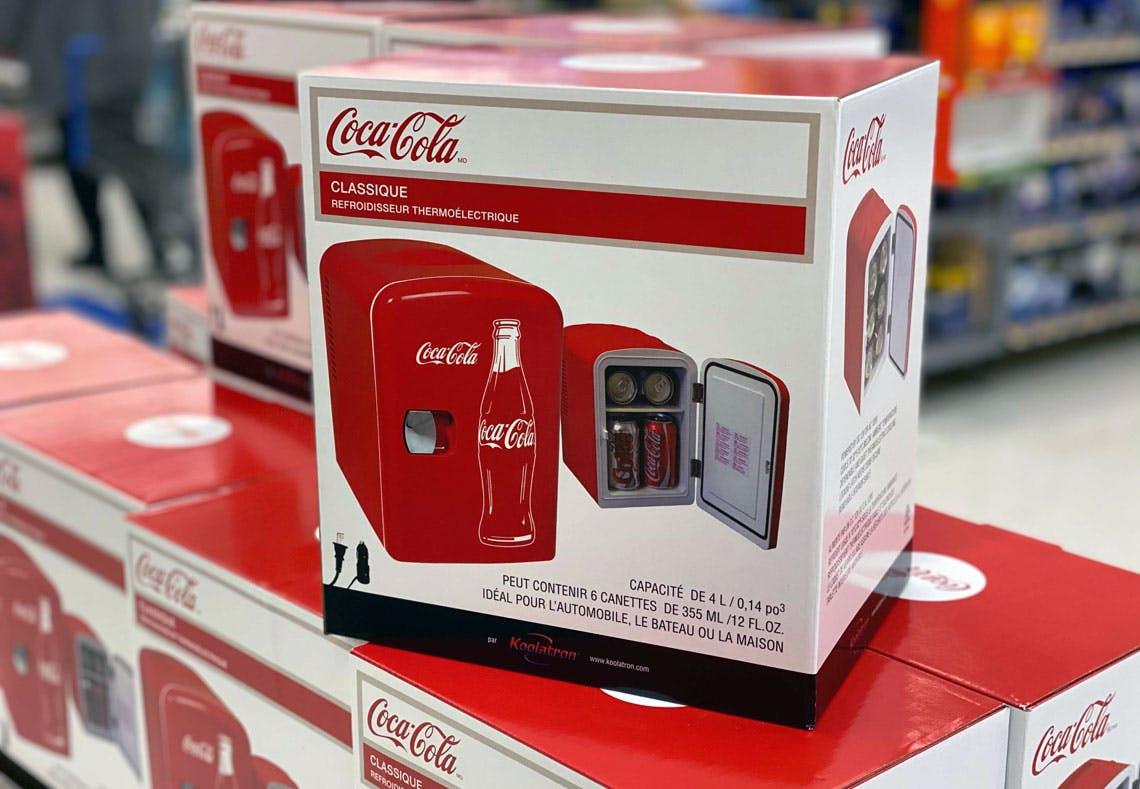 Coca Cola Mini Soda Fridge Starting At 29 At Walmart The Krazy Coupon Lady