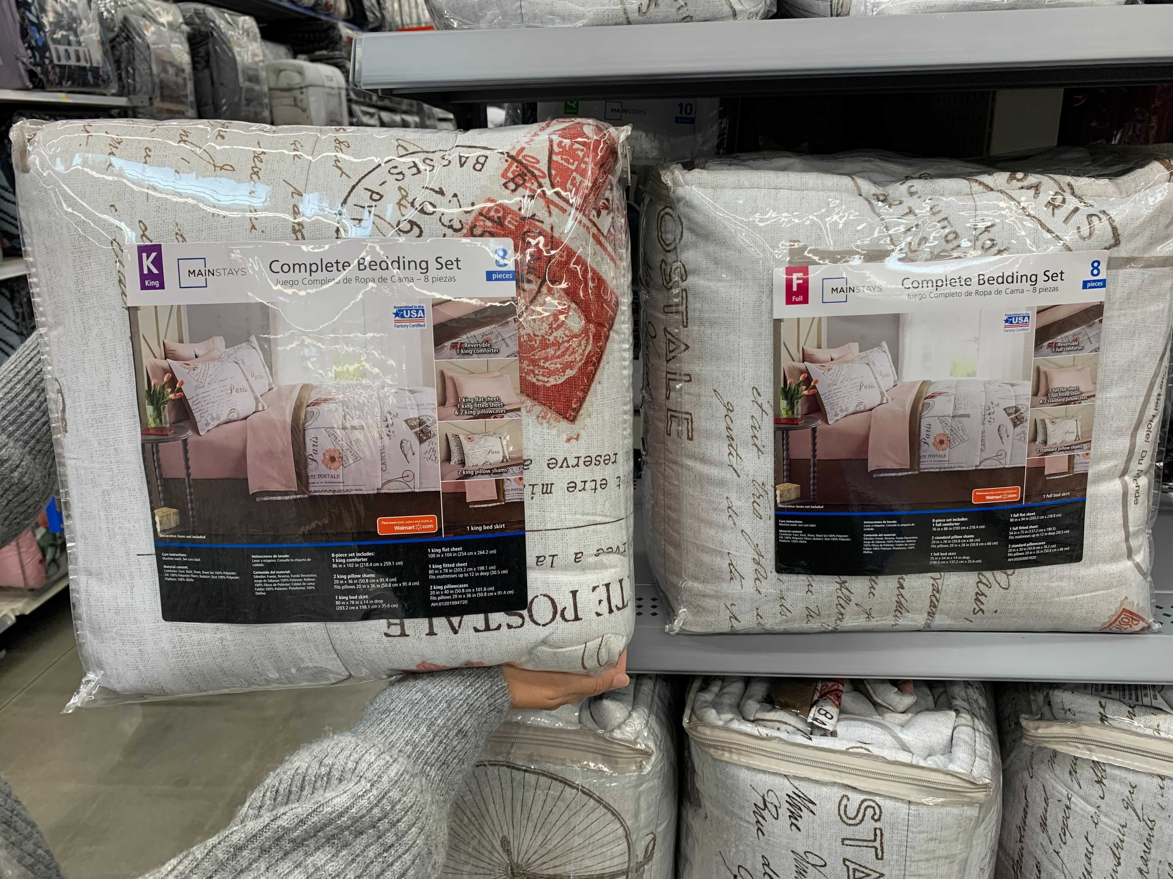 Mainstays 8 Piece Comforter Set With Quilt Set 35 At Walmart The Krazy Coupon Lady