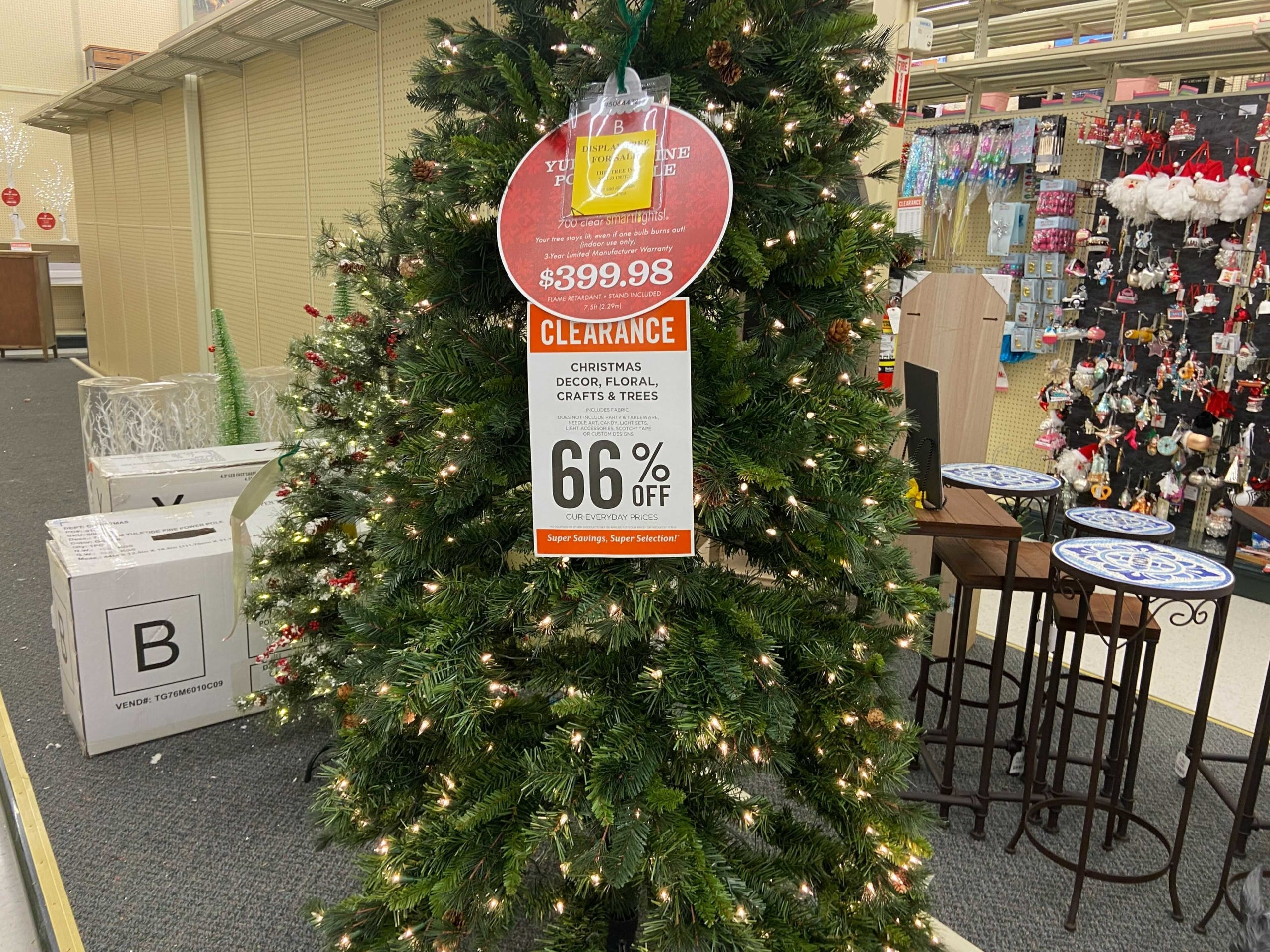 Christmas Clearance At Hobby Lobby 66 Off The Krazy Coupon Lady