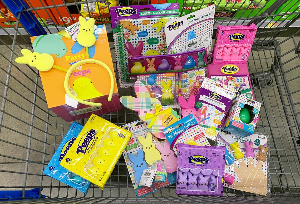 Peeps Easter Basket Treats Now At Walmart The Krazy Coupon Lady