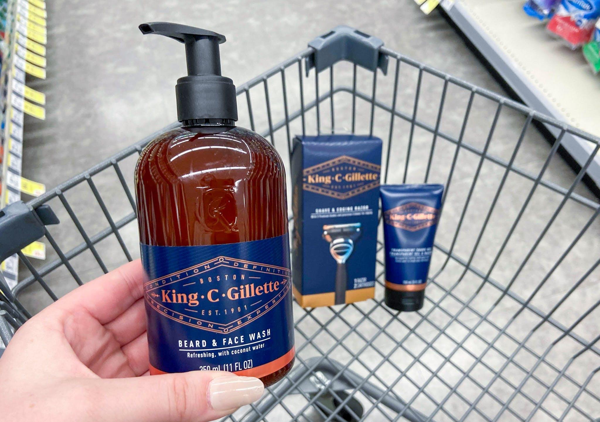 King C. Gillette Shave & Beard Care, $4.66 at Walgreens ...